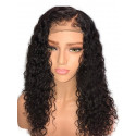 Sexy Curly Brazilian Remy Hair 130 Density 13X6 Lace Frontal Wigs With Baby Hair Pre Plucked Natural Hairline 【00338】