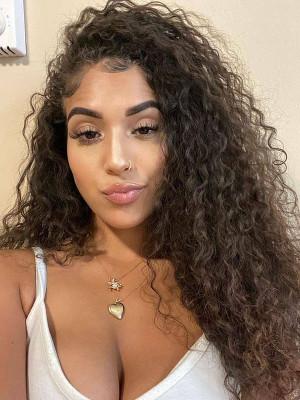 Elva Pre Plucked Brazilian Human Hair 13x6 Lace Front Wigs  Sea Wavy Opulence Hair Heavy Density Preplucked With Baby Hair 100% Raw Burma Hair【00172】