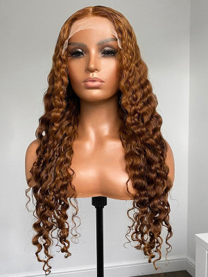 Wig Goals Achieved! Clean & Classy 13x6 Lace Front Human Hair Wigs 【00945】