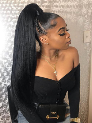 Pre Plucked Silky Straight Brazilian Remy Hair 150 Density 13x6 Lace Front Human Hair Wigs Bleached Knots With Baby Hair 【00525】