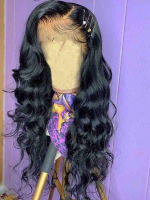 Elva Hair Pre Plucked Body Wave Brazilian Remy Hair 13x6 Lace Front Wigs 150 Density  Swiss Lace【00819】