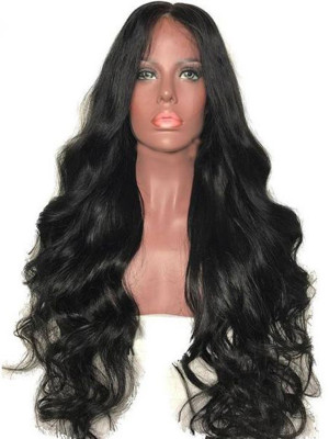 Pre Plucked Body Wave Brazilian Remy Hair 13x4 Lace Front Wigs 130 Density 【00743】