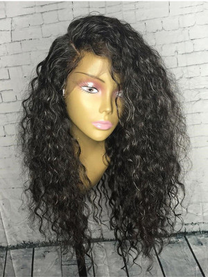 Curly Remy Hair 13x6 Lace Front Human Hair Wigs 150 Density 【00327】