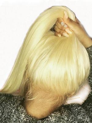 100% Raw Virgin Hair Full Lace Human Hair Wigs #613 150% Density 【00268】