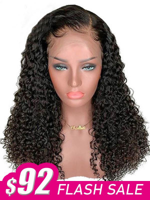 FLASH SALE !!! FULL LACE WIG Pre Plucked Brazilian Remy Hair Glueless Full Lace Wig Bleached Knots Swiss Lace【00155】